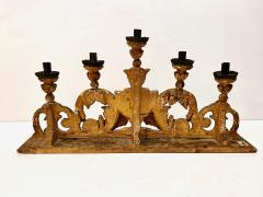 Pair 18th Century Spanish Colonial Altar Candelabra - 1888472