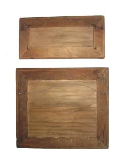 Pair Birch Bark Frames - 476818