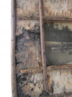 Pair Birch Bark Frames - 476821
