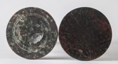 Pair Cornish Serpentine Marble Candlesticks - 1246629