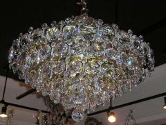 Pair Crystal Modernist Chandelier - 1868611