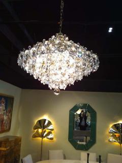 Pair Crystal Modernist Chandelier - 1868612