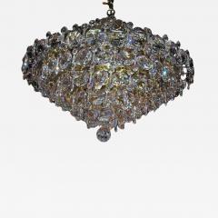 Pair Crystal Modernist Chandelier - 1873533