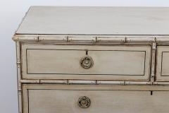 Pair Faux Bamboo Chest of Drawers - 1659799