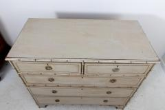 Pair Faux Bamboo Chest of Drawers - 1659800