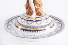 Pair Gilt Gold Glazed Porcelain Decorative Pieces - 2108258