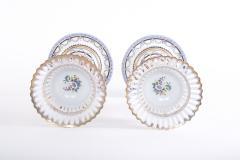Pair Gilt Gold Glazed Porcelain Decorative Pieces - 2108263