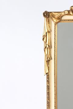 Pair Giltwood Framed Beveled Hanging wall Mirror - 1574328