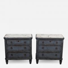 Pair Gustavian Style Chests of Drawers - 1660328