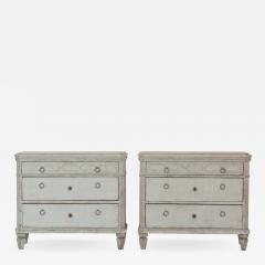 Pair Gustavian Style Chests of Drawers - 1677362