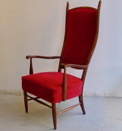 Pair Italian grand scale armchairs - 721128