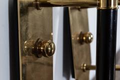Pair Large Mid Century Italian Brass Wall Lights - 2052085