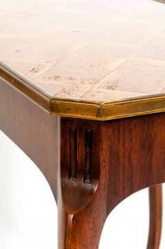 Pair Marquetry Side End Table - 1125578