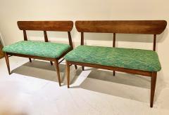 Pair Mid Century Bench - 1892496