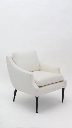 Pair Mid Century Modern Arm Chairs by Karpen - 1839955