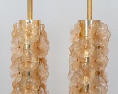 Pair Murano Flower Lamps - 1669782