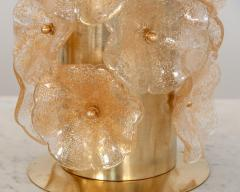 Pair Murano Flower Lamps - 1669791