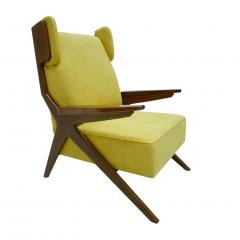 Pair Of Italian Armchairs In The Style Of Gianfranco Frattini - 1436337