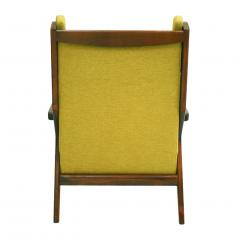 Pair Of Italian Armchairs In The Style Of Gianfranco Frattini - 1436339