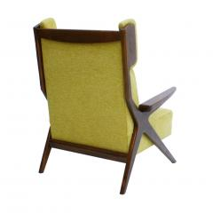 Pair Of Italian Armchairs In The Style Of Gianfranco Frattini - 1436340