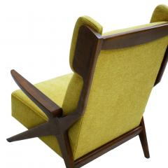 Pair Of Italian Armchairs In The Style Of Gianfranco Frattini - 1436341