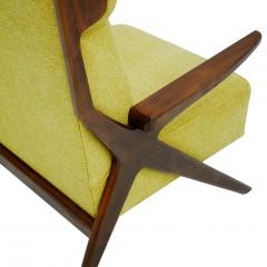 Pair Of Italian Armchairs In The Style Of Gianfranco Frattini - 1436342