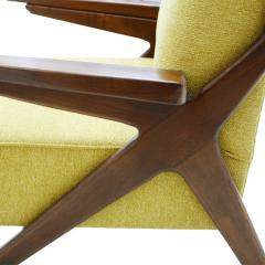 Pair Of Italian Armchairs In The Style Of Gianfranco Frattini - 1436343
