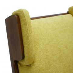 Pair Of Italian Armchairs In The Style Of Gianfranco Frattini - 1436344