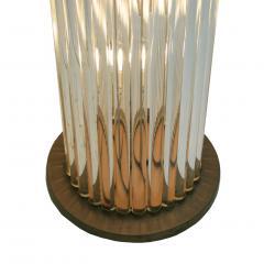 Pair Of Murano Glass Italian Floor Lamps 70s - 1626119