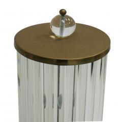 Pair Of Murano Glass Italian Floor Lamps 70s - 1626121