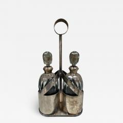 Pair Of Two Vintage Bottle Italy 1950s - 2074534