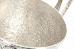Pair Old English Plated Trophy Cup Urn - 1130364