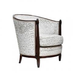 Pair Paul Follot design armchairs - 1125150