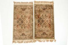 Pair Silk Handmade Area Rugs - 1129975
