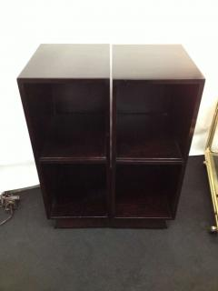 Pair Slim Tower Bookcase End Table - 83443