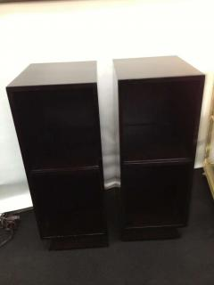 Pair Slim Tower Bookcase End Table - 83444