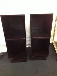 Pair Slim Tower Bookcase End Table - 83445