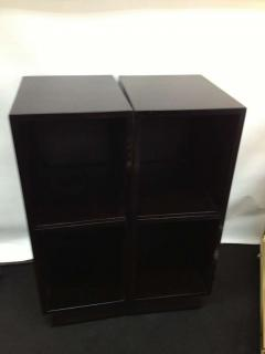 Pair Slim Tower Bookcase End Table - 83447