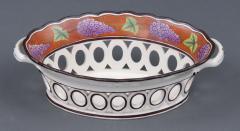 Pair Spode Chestnut Baskets Circa 1820 - 821773