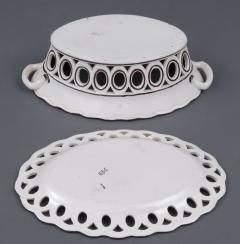 Pair Spode Chestnut Baskets Circa 1820 - 821777