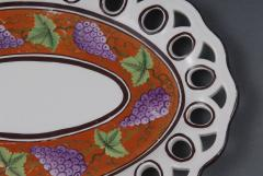 Pair Spode Chestnut Baskets Circa 1820 - 821778