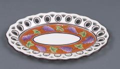 Pair Spode Chestnut Baskets Circa 1820 - 821781