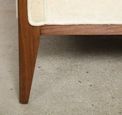 Pair Walnut Lounge Chairs - 992113