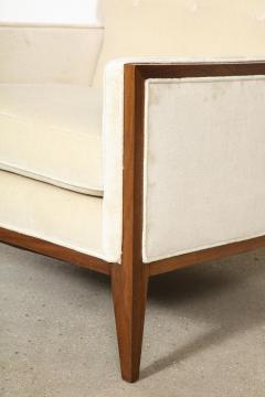 Pair Walnut Lounge Chairs - 992117
