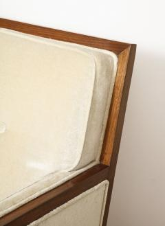 Pair Walnut Lounge Chairs - 992119