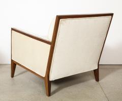Pair Walnut Lounge Chairs - 992120