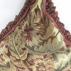Pair of 18th Century French Floral Tapestry Large Square Cushions - 979831