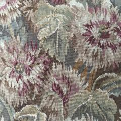 Pair of 18th Century French Floral Tapestry Large Square Cushions - 979833