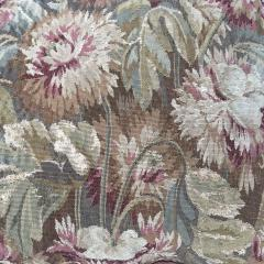 Pair of 18th Century French Floral Tapestry Large Square Cushions - 979838