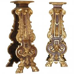 Pair of 18th Century Italian Giltwood Stands - 452684